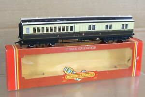 HORNBY R436 GW GWR CLERESTORY BRAKE 3rd COACH 3371 MINT BOXED np