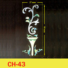 Free Shipping, Guitar Part - Inlay Your Name On Head Plate ( CH43 )