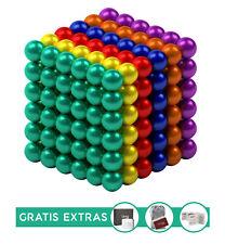 216 bunte Magnetkugeln 5mm Anti Stress Stresskiller Gadget Kühlschrank Magnete