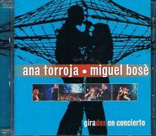 Girados en Concierto by Miguel Bosé/Ana Torroja (CD, Oct-2000, 2 Discs)