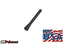 1982-2002 GM F-Body Camaro Firebird Short Antenna Aluminum Black Anodized USA