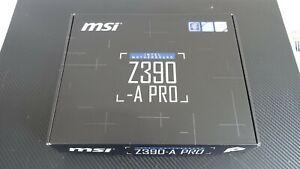 MSI Z390A-PRO Socket LGA1151 Motherboard - Bent CPU board pins - New motherboard
