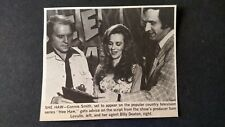 CONNIE SMITH...Appears On Hee Haw Series 1977  Original Print Promo Pic/Text