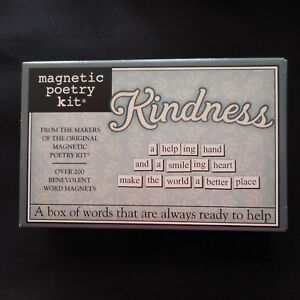 NEW KINDNESS Magnetic Poetry Kit
