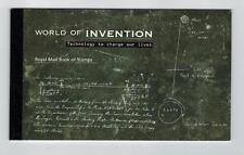 DX38  PRESTIGE BOOKLET WORLD OF INVENTION STAMPS
