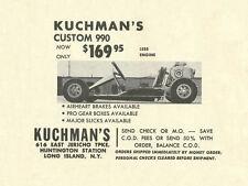 Vintage 1964 Kuchman Custom 990 Go-Kart Ad