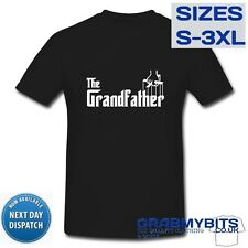 GRANDFATHER / GODFATHER PRINTED T SHIRT - FATHERS DAY - NEW BABY - FUNNY