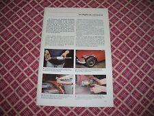 MA VOITURE N°138 CITROËN ENTRETIEN CX GTI carrosserie carbu weber ARBRE A CAMES