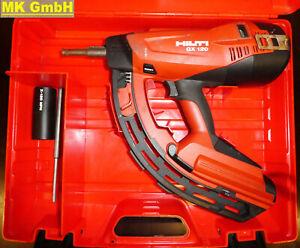 Hilti GX 120 Gasnagler, Langmagazin, Betonnagler, GX120 mit X-120 GM40, 1x Gas