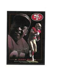 SAN FRANCISCO 49ERS JERRY RICE 1993 SKYBOX INSERT FOOTBALL CARD #CB5