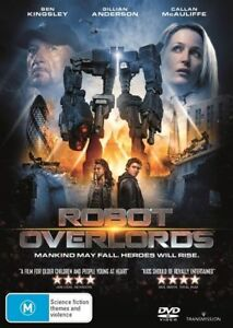 Robot Overlords - BRAND NEW - DVD