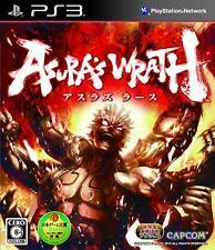 Asura's Wrath PS3 Capcom Sony PlayStation 3 From Japan