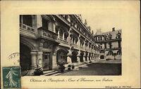 Château de Pierrefonds France 1909 Innenhof Schloss Cour d'Honneur Héliographie