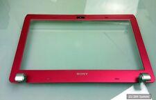 Sony Vaio VPCYB3V1E Ersatzteil: X25821611 Displayrahmen, Frame, Bezel in Pink
