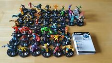 Heroclix Marvel Fantastic Four complete CUR 001-048 with cards FREE SHIPPING