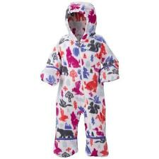 Girl 3-6 M Columbia Fireside Cuddle Snowtop II Fleece Bunting Snow Suit Infant