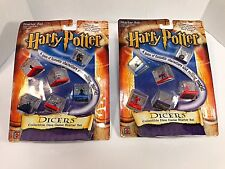 Harry Potter Dicers Dice Game Starter Set Of 2 Packages With 2001 New