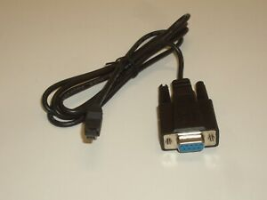 GENUINE UNIDEN DB9 SRIAL PROGRAMMING CABLE FOR BEARCAT BC246/396/996 SCANNER