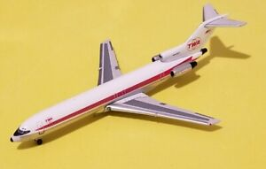 Gemini Jets 1:400 TWA Trans World 727-200 Twin Globes N64323 Rare