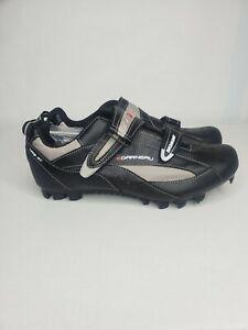 Garneau Bromont Men's HRS-80 Black Gray Cycling Shoes Size 11.5(US)