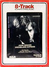JOHN DENVER Dreamland Express NEW SEALED 8 TRACK CARTRIDGE