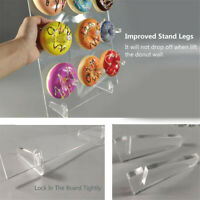 Doughnut Acrylic Wall Stand Party Wedding Favour Birthday Sweets Candy Rack