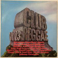 CLUB REGGAE VOL. 3 LP TROJAN 1972 EX CONDITION COMPILATION PRO CLEANED