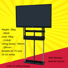 TECHTONGDA 32-52 Inch LCD TV Plasma Lift Hanger Bracket Electric Remote Control