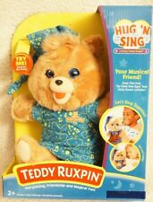 Teddy Ruxpin Hug 'N Sing Interactive Lullaby Stuffed Bear Brand New in Box