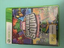 Marvel Super Hero Squad The Gauntlet - XBOX 360 - Game - VGC Complete