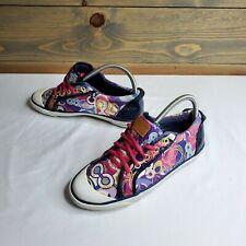 Coach womens shoes, multi-color, canvas, sz 7.5