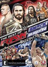 WWE - Best Of Raw Smackdown 2015 (DVD, 2016, 3-Disc Set) Brand New, Genuine D55