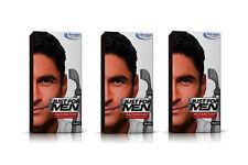 3x JUST FOR MEN Auto Stop Uomo capelli colorazione colorante colore nero autostop A55
