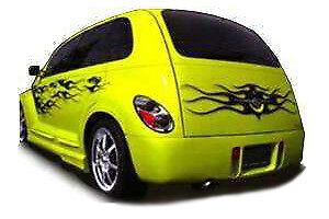 KBD Body Kits Premier Polyurethane Rear Bumper Fits Chrysler PT Cruiser 01-05