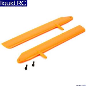 Blade Helis 3715OR Fast Flight Main Rotor Blade Set Orange: 130 X