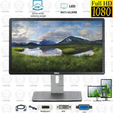 Dell P2214HB 22 inch 1920 x 1080 FHD LCD Monitor Displayport DVI VGA with cables