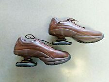 Z-COIL Classic Brown Leather, Lace Up, Walking Spring Shoes. Men's 9
