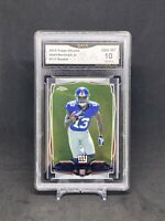 2014 Topps Chrome Odell Beckham Jr. RC Rookie GMA 10 GEM MINT Comp to PSA 10