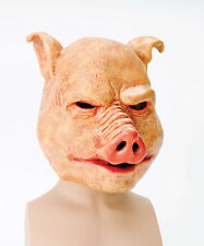 BM370 horreur cochon halloween latex intégral masque fancydress accessoire overhead