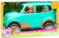 Mattel FGC99 - Barbie Camping Fun - Fahrzeug und Puppe Farbe türkis NEU / OVP