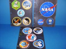 NASA APOLLO SKYLAB STICKERS ORIGINAL FROM PERIOD (LOT OF 24)