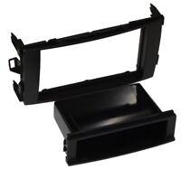 Adaptateur Autoradio 1 ou 2 DIN Façade Cadre Réducteur pour Toyota Auris, Noir