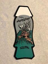 Vintage skateboard sticker Walker Nightmare gonzales Nos deck Texas zorlac Alva