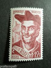 FRANCE 1950, timbre 866, F. RABELAIS, neuf**, VF MNH STAMP, CELEBRITY