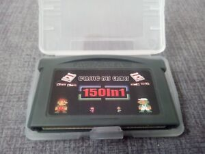 NES Games 150 in 1 for Nintendo Game Boy Advance GBA SAVE STATES gameboy advance