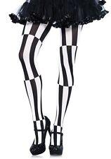 LAG 7904 Leg Avenue Strümpfe Strumpfhose zum Harlequin Clown Alice Kostüm