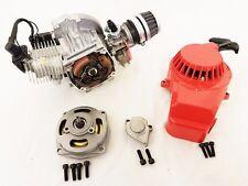 49CC MINI MOTO MINI QUAD BIKE ENGINE & CARB AIR FILTER HEAD RED PULL START