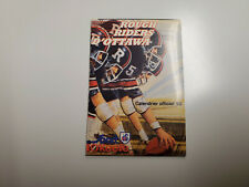 Rs20 Ottawa Rough Riders 1980 Cfl Football Pocket Schedule (French) - O'Keefe