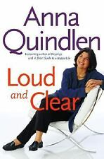 Loud and Clear Anna Quindlen Hardcover
