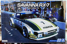 1979 Mazda Savanna RX 7 Daytona JDM, 1:24, Aoshima 052297
